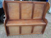 Vintage bench seat £30 143x 37x 123 cm