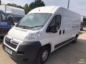 CITROEN RELAY 35 L3H2 HDI 2013RED LWB FOR SALE SPARES OR REPAIRS