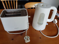 Used Kenwood toaster and kettle in very good condition