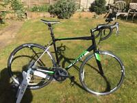 Road Bike by Giant , large frame, immaculate