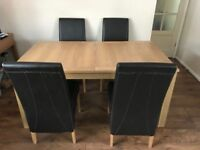 Table & 4 Chairs FREE, Collection ASAP