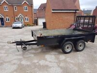 Plant Trailer - Twin Axle - 3.0 x 1.8 m - Galvanized Steel Box