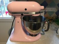 Kitchenaid stand mixer. Baby pink