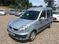 RENAULT KANGOO 1.2cc MOBILITY WHEEL CHAIR RAMP ONLY 26000 MILES FSH AT AYLSHAM ROAD AFFORDABLE CARS