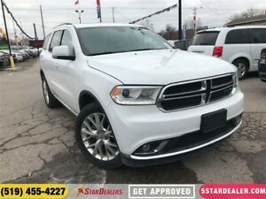 2016 Dodge Durango Limited | ONE OWNER | LEATHER | ROOF | AWD |