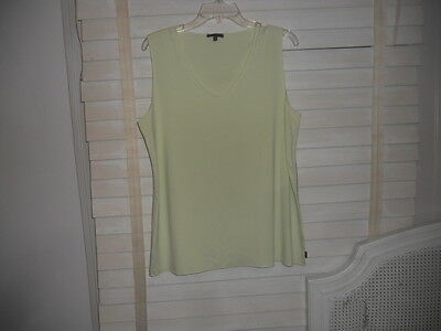 NWOT Oska Germany ~ Art to Wear ~ Pale Pistachio Tunic Tank/Cami/Shell ~ 4 IV