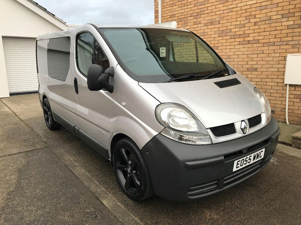 2005 renault trafic day van modified 18 39 s remapped rear seats etc vivaro primestar in. Black Bedroom Furniture Sets. Home Design Ideas