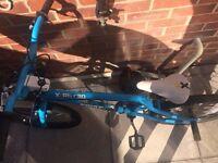 Blue BMX Bike. Excellent condition