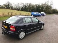 2 owner 2004 Vauxhall Astra 1.6