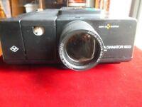 Agfa Diamator 1500 35mm Slide Film Projector Autofocus Vintage Used Working