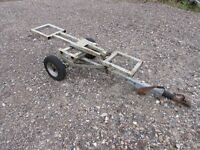 car tow dolly transporter