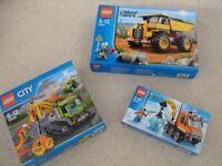 Lego City bundle - 3 complete sets