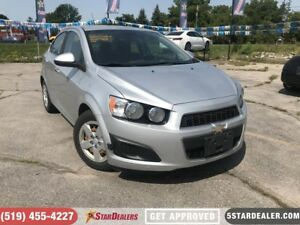2012 Chevrolet Sonic LT | AUTO LOANS APPROVED