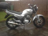 Sym xs 125, 65 reg , low mileage ,very good condition must be seen