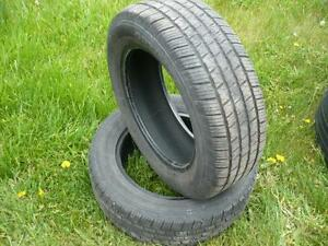 Two 195-60-15  tires $50.00
