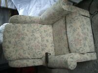 "RISER RECLINER CHAIR by ""BURROW CLARK"" little use and immaculate condition."