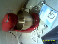 Superb Kenwood Patissier Mixer, Little Used, 6 speed, VGC. inc. instructions & accessories