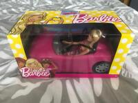 Brand New Barbie and car