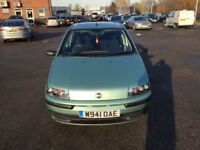 FIAT PUNTO 1.2 WITH MOT IN EXCELLENT CONDITION