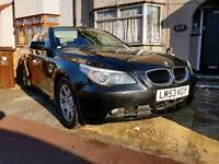 2004 BMW 525i SE AUTO - 92K/FSH/HPi Clear/Black