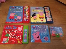 Peppa Pig noisy book bundle