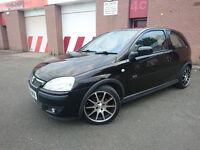 2004 Vauxhall Corsa 1.2 SXI 16V Manual Petrol Black 3dr LONG MOT 46000 MILES