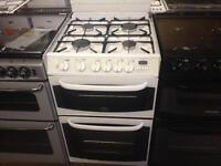 White cannon gas cooker