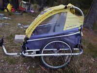 Burley bike trailer