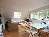 A large 2 bed plus study with communal garden seconds walk from Stamford Hill overground