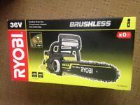 RYOBI 36V LithiumPlus Chainsaw