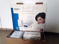 devolo dLAN 500 duo Powerline Starter Kit (500 Mbps, 2 x PLC Homeplug Adapter, 2 x LAN Ports)