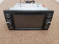 Double din car android stereo