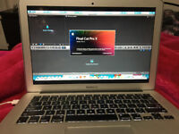 Videographers laptop - INCLUDING EDITING SOFTWARE Macbook Air 13-inch, Mid 2012