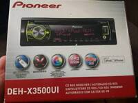 Pioneer car stereo with usb support for iphone and android