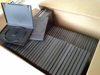 Empty DVD cases