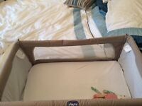 Chicco next2me cot co-sleeper