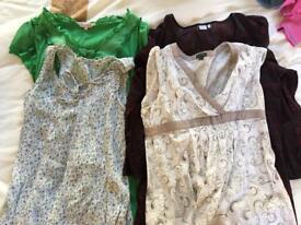 4 Maternity tops bundle 14
