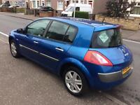 2004 (54) Renault megane 12 months mot (no advisories)