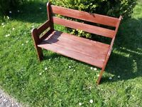 Small persons bench seat