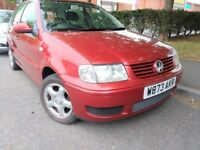2000 VW POLO S 1.4 *CAMBELT & WATER PUMP* HATCHBACK 5 DOOR PETROL GOLF 1.6 1.2 LUPO 1.0