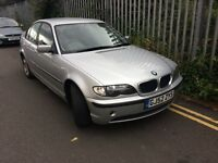 Bmw 3 series E46 model in silver 52 reg ,good condition ,px welcome