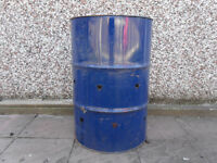 Garden Incinerator - Oil Drum Fire Barrel - Fire Pit - Garden Waste Burner
