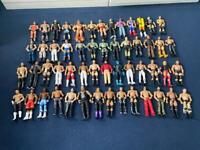 WWE basic figures (joblot of 54 wrestlers)