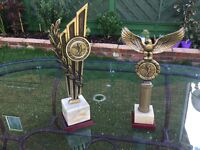 Golf Trophies Solid Brass - unmarked