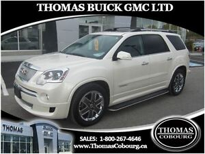 2012 GMC Acadia Denali AWD - LOADED! ONE OWNER!