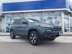 2015 Jeep Cherokee TRAILHAWK-ALL IN PRICING-$183 BIWKLY+HST/LIC