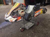 Kz125 shifter go kart not rotax or tkm