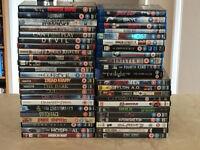 Massive Job Lot Of DVDs & Blu Rays