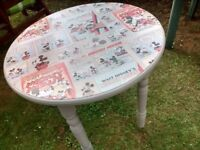 Round Dining Table Mickey Mouse