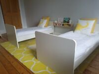 Mamas and Papas Haxby 3 piece nursey furniture
